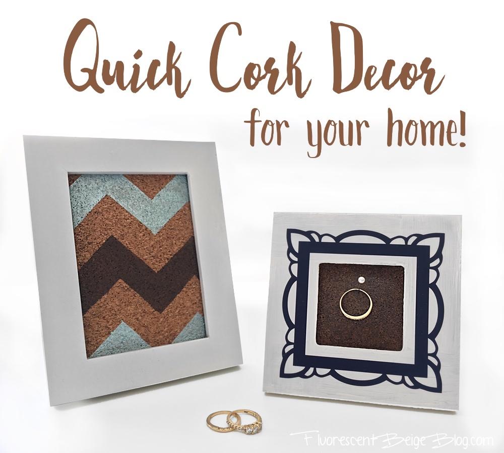 Quick cork decor fluorescent beige for Decor quick